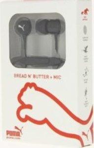PUMA Bread N Butter In-Ear Kopfhörer mit Mikrofon, schwarz
