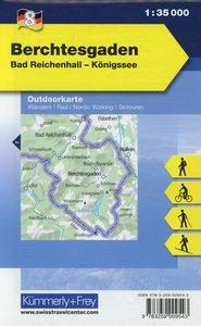 KuF Deutschland Outdoorkarte 08. Berchtesgaden 1 : 35.000