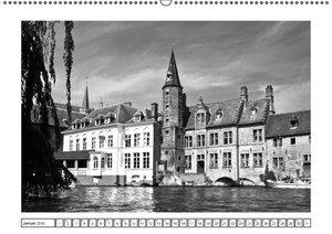 Brügge - Flandrisches Kleinod (Wandkalender 2016 DIN A2 quer)