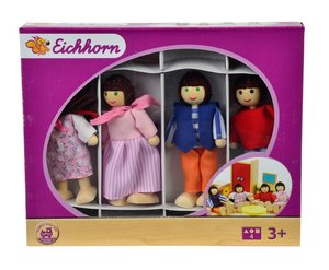 Eichhorn 100002500 - Puppenhaus Familie