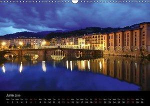 BASQUE (Wall Calendar 2015 DIN A3 Landscape)