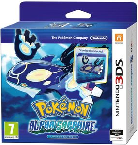 Pokémon Alpha Saphir Steel Book - Limitierte Edition)
