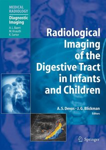 Radiological Imaging of the Digestive Tract in Infants and Child