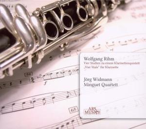 Rihm: Vier Studien zu einem Klarinettenquintett