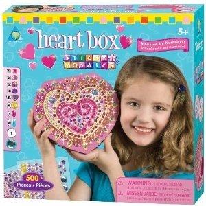 Invento 620104 - Sticky Mosaics: Herz Box