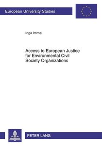 Access to European Justice for Environmental Civil Society Organ