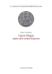 Lepcis Magna unter den ersten Kaisern