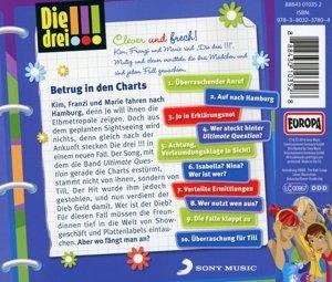 Die drei !!! 31: Betrug in den Charts (Ausrufezeichen)