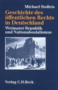 Geschichte des öffentlichen Rechts in Deutschland. Sonderausgabe