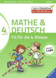 Fit für die 4. Klasse Mathe und Deutsch