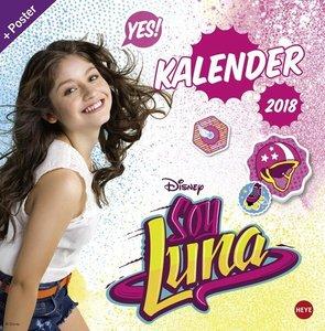 Soy Luna Broschurkalender 2018