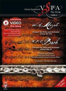 Konzert für Flöte und Orchester G-Dur KV 313/Konzert für Flöte u