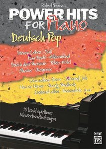 Power Hits For Piano Kids Deutsch Pop