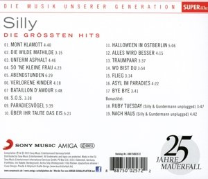 Musik unserer Generation Die grössten Hits