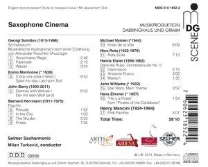Saxophone Cinema