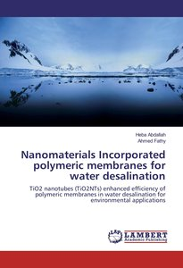 Nanomaterials Incorporated polymeric membranes for water desalin