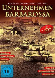 Unternehmen Barbarossa-Deluxe Edition (6 DVDS)