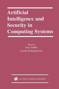 Artificial Intelligence and Security in Computing Systems
