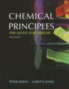 Chemical Principles with Access Code: The Quest for Insight