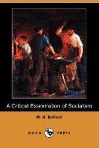 CRITICAL EXAM OF SOCIALISM (DO