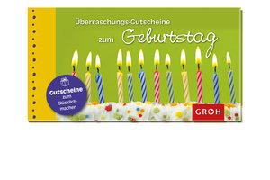 Überraschungs-Gutscheine zum Geburtstag