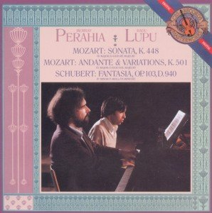 Klaviersonate für 4 Hände KV 448/Fantasia D 940
