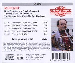 Mozart:4 Horn Concertos