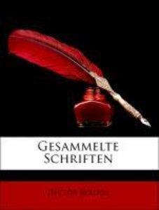 Gesammelte Schriften. Erster Band