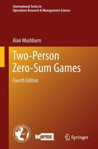 Two-Person Zero-Sum Games