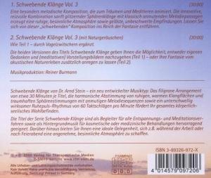 Schwebende Klänge 3. CD