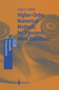 Higher-Order Numerical Methods for Transient Wave Equations
