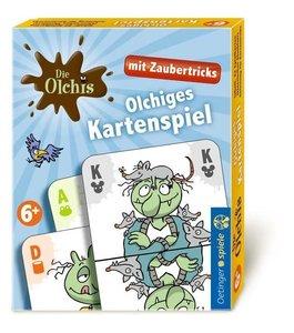 Die Olchis Kartenspiel mit Zaubertricks