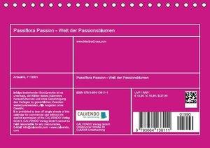 Passiflora Passion - Welt der Passionsblumen (Tischkalender 2016