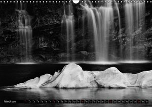 Rocks and Water in Ticino (Wall Calendar 2015 DIN A3 Landscape)