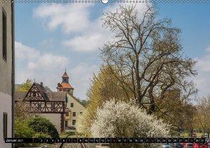 Ochsenfurt im Süden des Maindreiecks (Wandkalender 2017 DIN A2 q