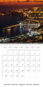 Around Naples (Wall Calendar 2015 300 × 300 mm Square)