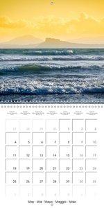 Around Naples (Wall Calendar 2015 300 × 300 mm Square)