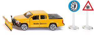 SIKU 2546 - VW Amarok Winterdienst