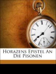 Horazens Epistel An Die Pisonen