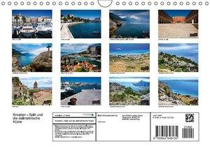 Kroatien - Split und die dalmatinische Küste (Wandkalender 2016