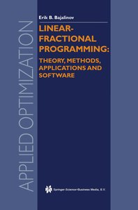 Linear-Fractional Programming Theory, Methods, Applications and