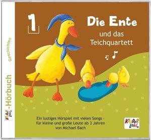 Die Ente und das Teichquartett 01