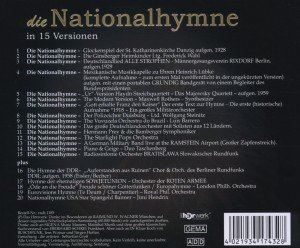 Nationalhymne.One Song Edition