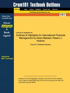 Outlines & Highlights for International Financial Management by
