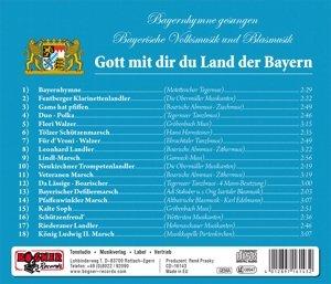 Gott Mit Dir Du Land Der Bayern