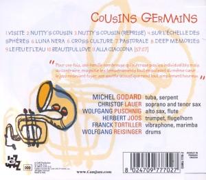 Cousins Germains - zum Schließen ins Bild klicken