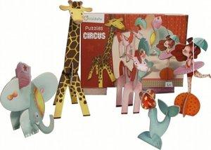 3D Puzzles Circus Mädchen