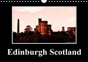 Edinburgh Scotland (Wall Calendar 2015 DIN A4 Landscape)