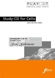 Study-CD for Cello - Concerto No.4,Op.65,G-Dur
