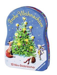 Ravensburger Mini-Bilderspaß Frohe Weihnachten. 10 Mini-Bilderbü
